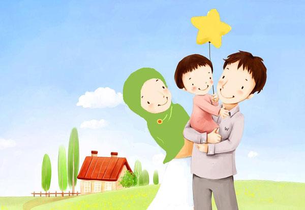 mutlu aile ortamı