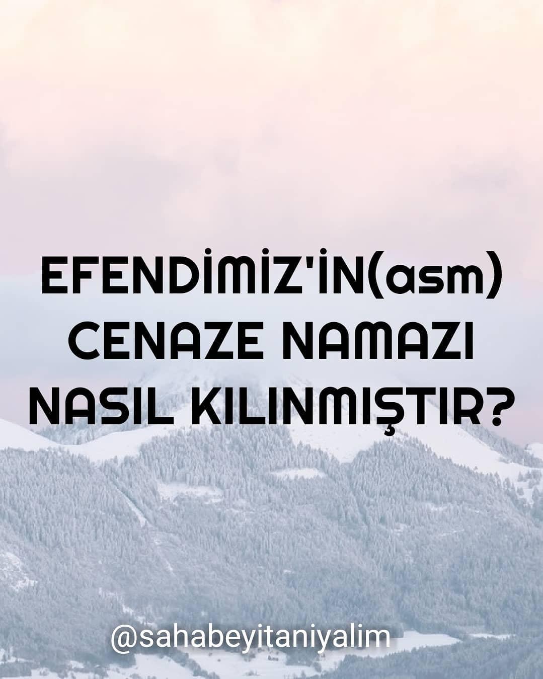 Peygamber Efendimiz(s.a.v)'in Cenaze Namazı Nasıl Kılındı?   www.corek-otu-yagi.com