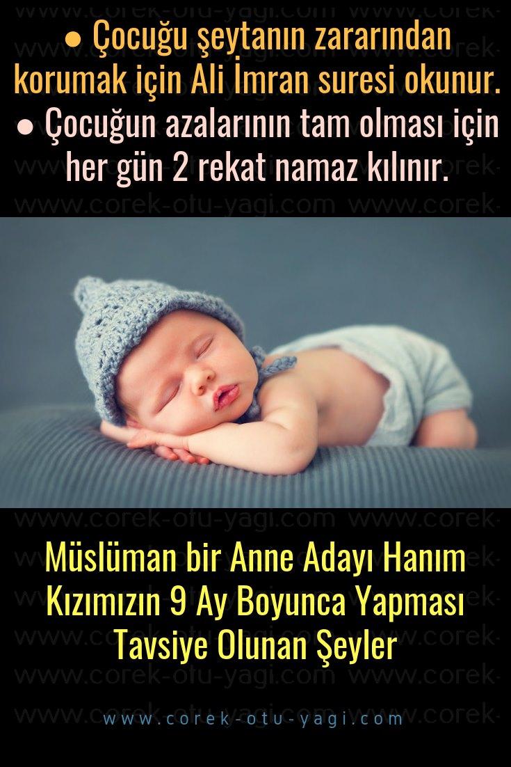 Müslüman bir Anne Adayı Hanım Kızımızın 9 Ay Boyunca Yapılacaklar Listesi | www.corek-otu-yagi.com