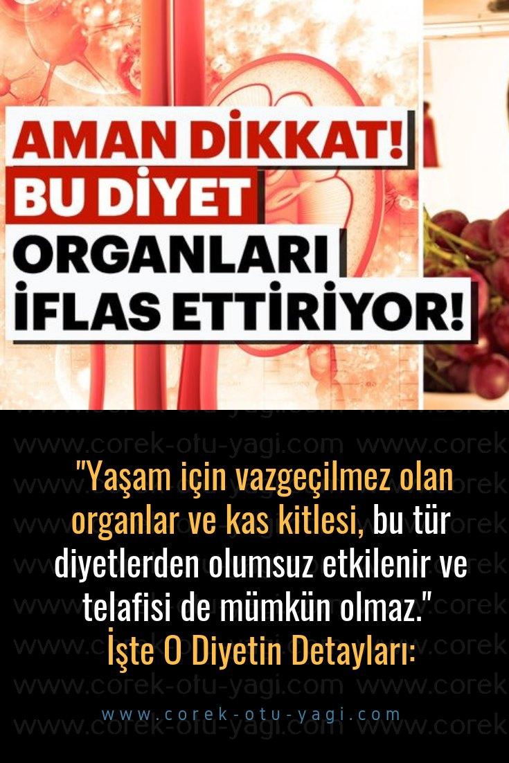 Organları iflas ettiren bu diyetten uzak durun! | www.corek-otu-yagi.com
