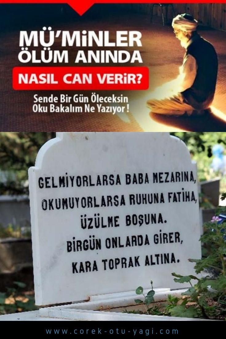 Müminlerin ölümü nasıldır, acı çekerler mi ? | www.corek-otu-yagi.com