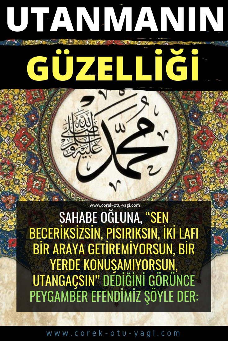 UTANMAK GÜZEL BİR HASLETTİR | www.corek-otu-yagi.com