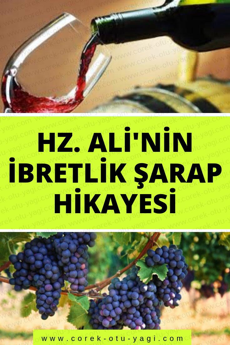 Hz. Ali'nin İbretlik Şarap Hikayesi |